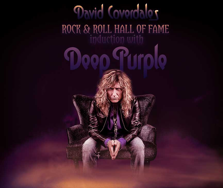 David Coverdale Hall of Fame Induction
