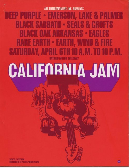 Deep Purple at California Jam 1974