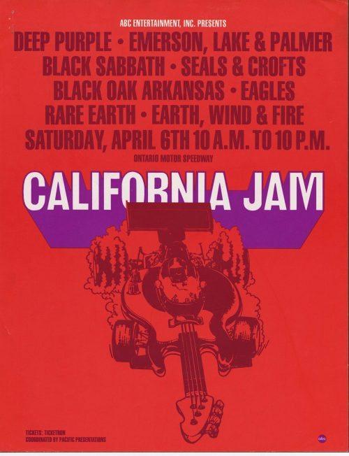 Deep Purple at California Jam 1974