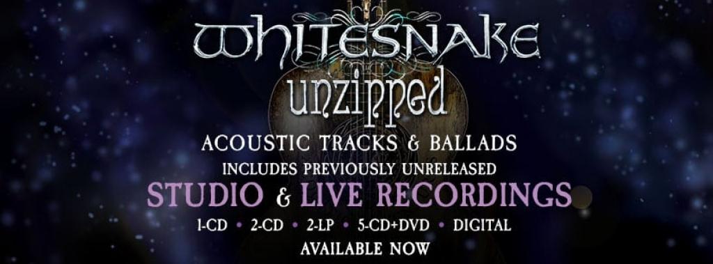 Whitesnake Unzipped Pre-Order