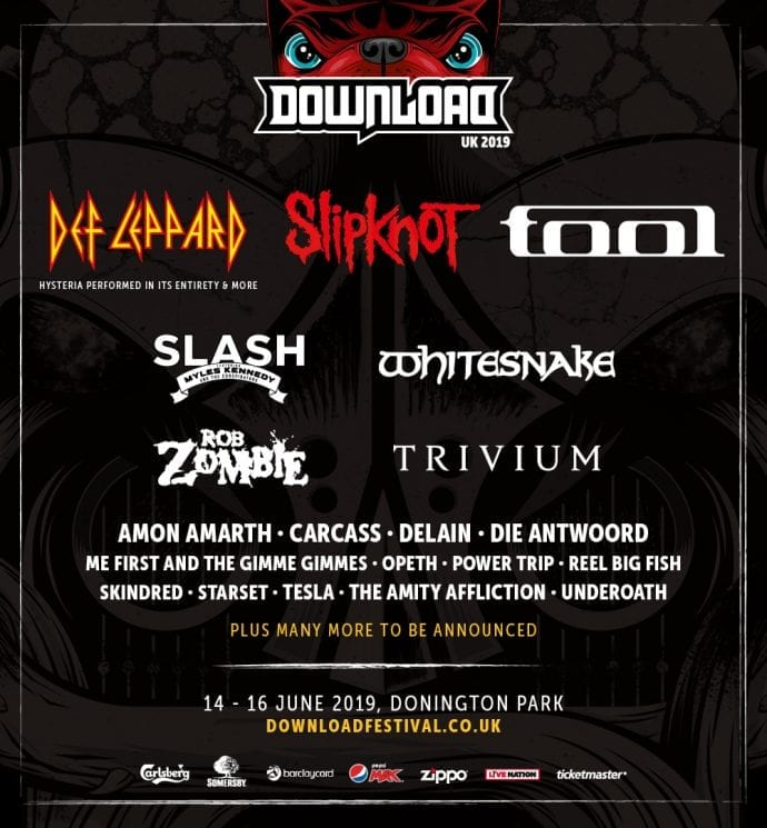 Whitesnake at Download Festival 2019