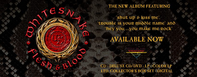 Flesh & Blood Album Available Now