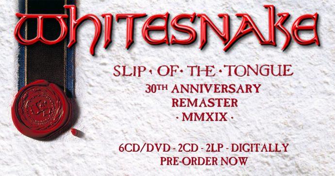 Slip Of The Tongue 30th Anniversary Edition - Whitesnake